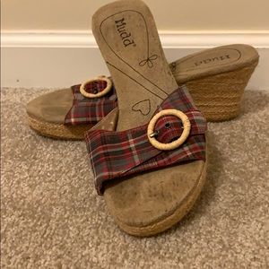 Mudd Wedges Size 9.5 Gently Used